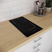 Plaque de cuisson à induction Cooke & Lewis CLFLEX2Z30 Zone flexible
