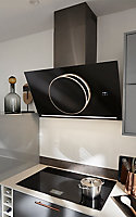 Plaque de cuisson à induction GoodHome GHIHAC80, Zone flexible