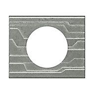 Plaque de finition simple Legrand Céliane matière furtif