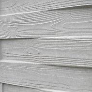 Plaque droite en béton tressée grise