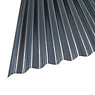 Plaque galva Bac Acier petites ondes opaque - 250 x 90 cm (vendue à la plaque)