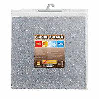 Plaque isolante 1 face aluminium 50 x 50 x 0.5 cm