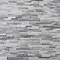 Plaquette de parement Austral blanc gris (vendue au carton)