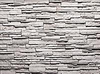 Plaquette de parement Int/Ext Kenya blanc 0,4m²