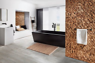 Plaquette de parement intérieur UltraWood Square 0,09m² naturel (vendu à la pièce)