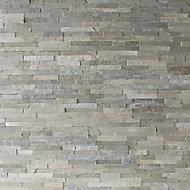 Plaquette de parement Slim 2 gris clair (vendue au carton)