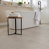 Plinthe blanche 8 x 60 cm Soft Travertin (vendue à la pièce)