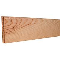 Plinthe sapin arrondie 9 x 95 mm L.2 m (vendue à la pièce)