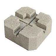 Plot béton pour terrasse Blooma h.10 cm