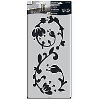 Pochoir adhésif Décoration murale 310 x 610 mm