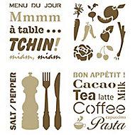 Pochoir adhésif Raphaël Ambiance cuisine