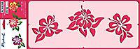 Pochoir adhésif Raphaël Fleurs exotiques