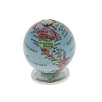 Poignée bouton rond globe Ø38 globe d38 bleu