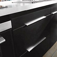 Poignée de meuble en métal Link entraxe 288 mm