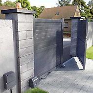 Portail aluminium Blooma Sydney II anthracite - 300 x h.170 cm