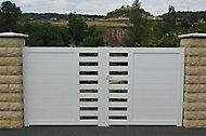 Portail PVC Salagou L.3 m