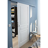 Porte coulissante 3 panneaux H.204 x l.73 cm