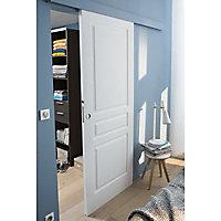 Porte coulissante 3 panneaux H.204 x l.83 cm