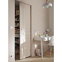 Porte coulissante 3 panneaux H.204 x l.93 cm