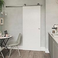 Porte coulissante Alpille blanc H.204 x l.83 cm