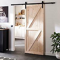 Porte coulissante Authentic 204 x 83 x 3,5 cm