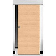 Porte coulissante coloris chêne Geom Summa naturel H.204 x l.93 cm