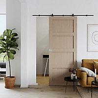 Porte coulissante Connemara chêne H.204 x l.83 cm