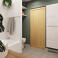 Porte coulissante Cottage pin H.204 x l.83 cm