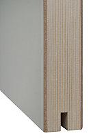 Porte coulissante gravée horizontal H.204 x l.83 cm