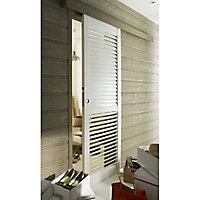 Porte coulissante à lames orientables Geom Solana H.204 x l.83 cm