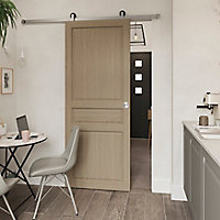 Porte coulissante Ordesa effet chêne H.204 x l.83 cm