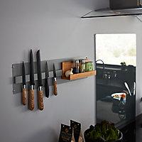 Porte couteaux magnétique GoodHome Pecel 33 cm