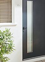 Porte d'entrée alu Jorasses 90 x h.215 cm poussant droit