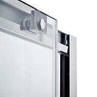 Porte de douche coulissante Cooke & Lewis Zilia transparent 160 cm