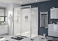 Porte de douche coulissante GoodHome Beloya transparente 160 cm