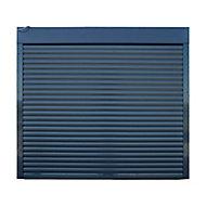 Porte de garage enroulable alu grise 240 x h.200 cm