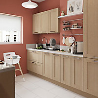 Porte de meuble de cuisine GoodHome Alpinia chêne l. 14.7 cm x H. 71.5 cm