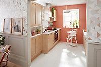 Porte de meuble de cuisine GoodHome Alpinia chêne l. 39.7 cm x H. 71.5 cm