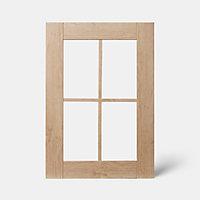 Porte de meuble de cuisine GoodHome Alpinia chêne l. 49.7 cm x H. 71.5 cm