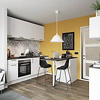 Porte de meuble de cuisine GoodHome Balsamita Blanc l. 14.7 cm x H. 71.5 cm