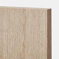 Porte de meuble de cuisine GoodHome Chia chêne clair l. 29.7 cm x H. 71.5 cm