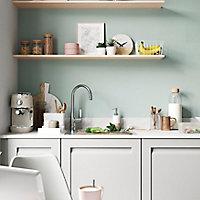 Porte de meuble de cuisine GoodHome Garcinia ciment l. 14.7 cm x H. 71.5 cm