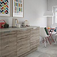 Porte de meuble de cuisine GoodHome Pachira chêne l. 59.7 cm x H. 71.5 cm