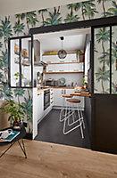 Porte de meuble de cuisine GoodHome Stevia Blanc l. 39.7 cm x H. 71.5 cm