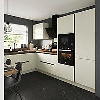 Porte de meuble de cuisine GoodHome Stevia Crème l. 14.7 cm x H. 71.5 cm