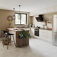 Porte de meuble de cuisine GoodHome Stevia Crème l. 49.7 cm x H. 71.5 cm