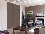 Porte de placard coulissante décor bois foncé Form Valla 92,2 x 247,5 cm