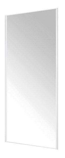 Porte De Placard Coulissante Miroir Blanc Form Valla 92 2 X 245 6 Cm Castorama