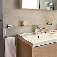 Porte-savon Alessano verre et acier chromé GoodHome