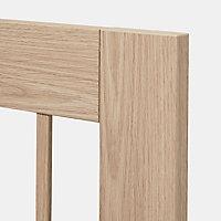 Porte vitrée de meuble de cuisine GoodHome Alpinia chêne l. 49.7 cm x H. 89.5 cm